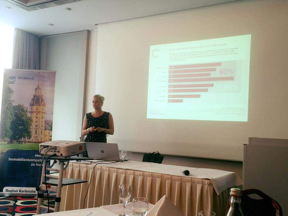 News-Beitrag: Vortrag über Home Staging beim IVD Süd Profitreffen in Karlsruhe
