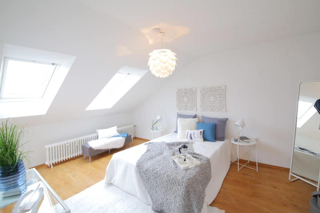 News-Beitrag: Vorher-Nachher Bilder einer Dachgeschosswohnung in der Pfalz…